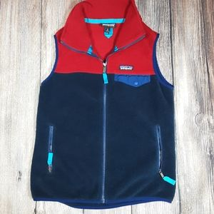 Patagonia Synchilla youth small fleece vest
